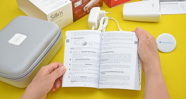 Silk'n Jewel Luxx IPL Haarentfernung im Test - kostenlose App zur Behandlungsplanung