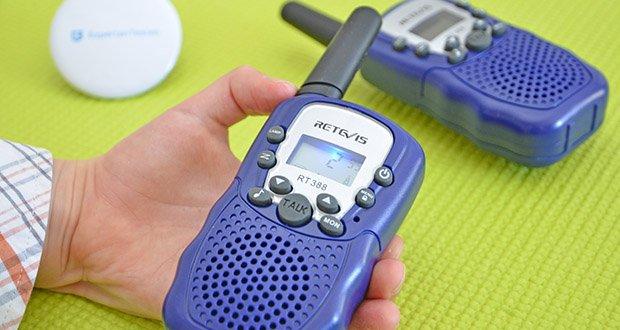 Retevis RT388 Walkie Talkie im Test - Eins-zu-eins und eins-zu-mehr Kommunikation