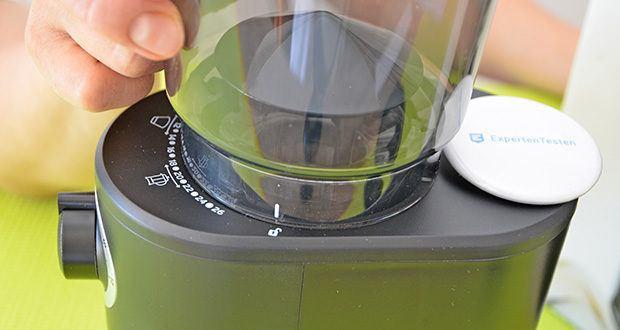 Tchibo Elektrische Kaffeemühle Einsteigermodell im Test - 26 verschiedene Mahlgradstufen von grob bis fein