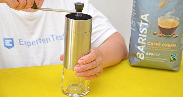 Tchibo Handmühle im Test - mit Keramikmahlwerk