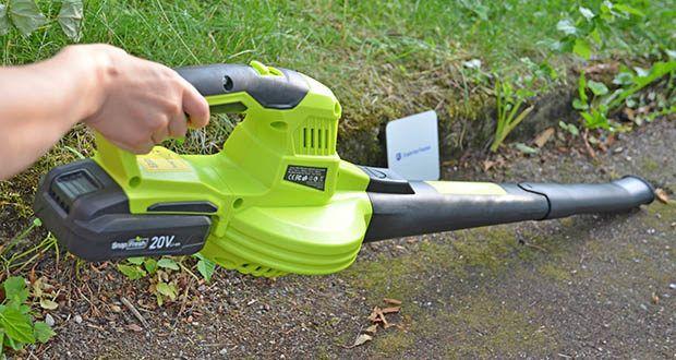 SnapFresh Akku Laubbläser im Test - effektiv im Haus und im Garten einsetzen