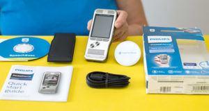Welche Arten von Diktiergeräten gibt es in einem Test?