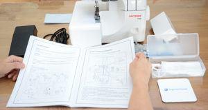 Welche Arten von Overlock Nähmaschine gibt es in einem Test?