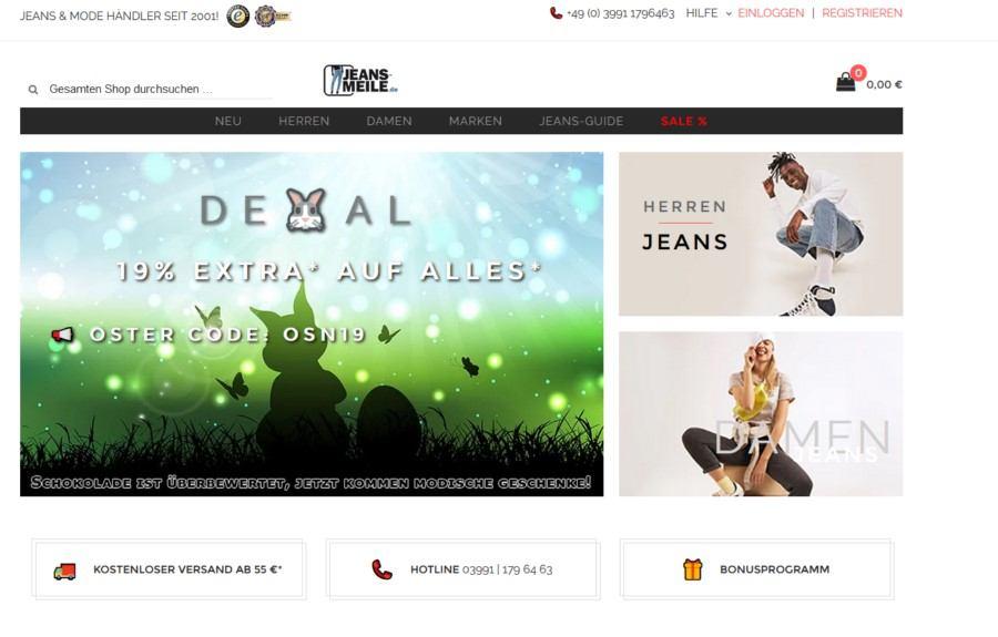 Die Zukunft der Modebranche Interview mit Rene Hackel von Jeans-Meile