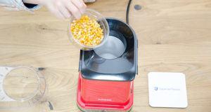 Kriterien aus einem Popcornmaschinen Test und Vergleich