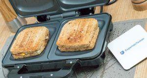 Vergleichs -Anforderung in einem Test-Vergleich zu verschiedenen Sandwichmakern