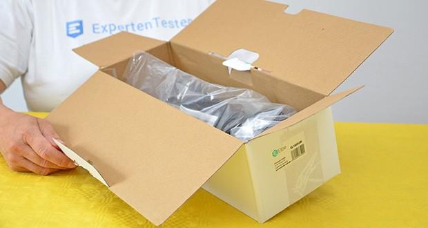 Elbe Inno versenkbare Tischsteckdosenleiste im Test - Verpackungsart: Pappkarton; Artikelnummer: EL1803UM