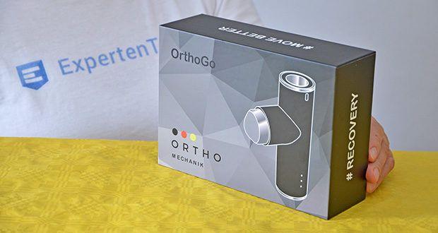 Orthomechanik OM-Go Massagepistole Mini im Test - 2 Jahre Garantie