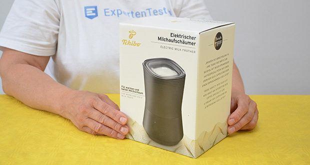 Tchibo Elektrischer Milchaufschäumer schwarz im Test - Leistung: 500 Watt