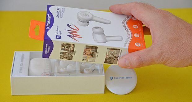 Tronsmart Apollo Air In-ear-Kopfhörer im Test - sechs Mikrofone mit cVc 8.0 Technologie für kristallklare Anrufe