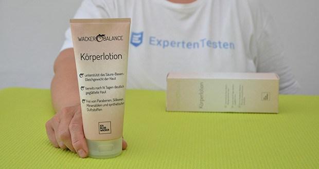 Wacker Körperlotion im Test - pflanzliches Silicea für die Elastizität der Haut