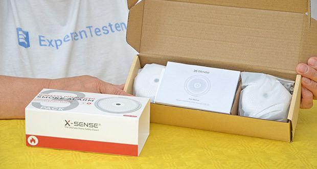 X-Sense Mini Funkvernetzbarer Rauchmelder 3-Pack im Test - der fortschrittliche photoelektrische Sensor ist empfindlicher und reduziert Fehlalarme