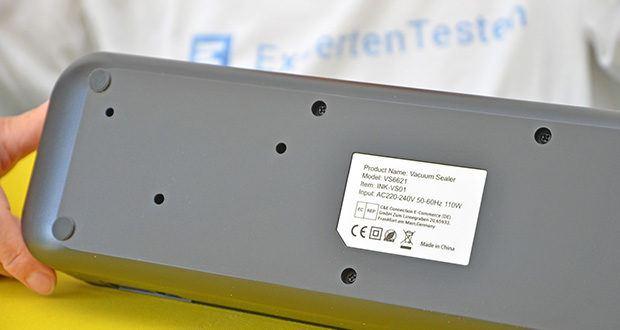 Inkbird Vakuumiergerät INK-VS01 im Test - Versiegelung-Zeit 8-12 Sekunden; Vakuum/Versicherungs-Zeit: 10-20 Sekunden