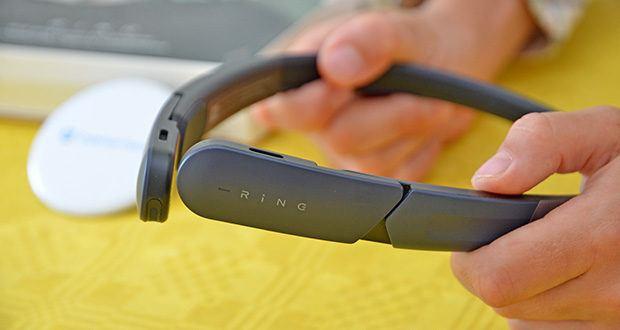 Mu6 Ring Open Ear Kabellose Kopfhörer im Test - wird durch eine Luftleitung angetrieben