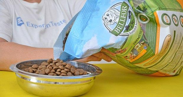 Bellfor Hypoallergenes Landgut-Schmaus Hundefutter im Test - reich an natürlichen Vitaminen, Mineralien (Spurenelemente) und Antioxidantien