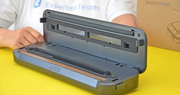 Inkbird Vakuumiergerät INK-VS01 im Test - eingebauter Cutter