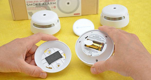 X-Sense Mini Funkvernetzbarer Rauchmelder 3-Pack im Test - wenn ein Melder ertönt, alarmiert er auch den Rest der miteinander verbundenen Melder