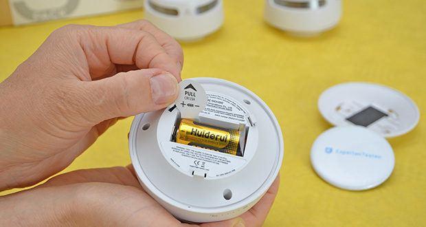 X-Sense Mini Funkvernetzbarer Rauchmelder 3-Pack im Test - austauschbare Batterie für 5 Jahre und 10 Jahre Sensorleben