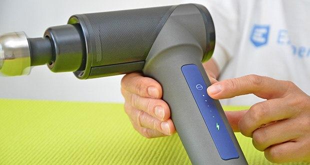 Orthomechanik OrthoGun 2.0 Massagepistole im Test - bis zu 360 Minuten Akkulaufzeit