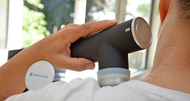 Orthomechanik OM-Go Massagepistole Mini im Test - mit innovativer UltraSilent-Technologie