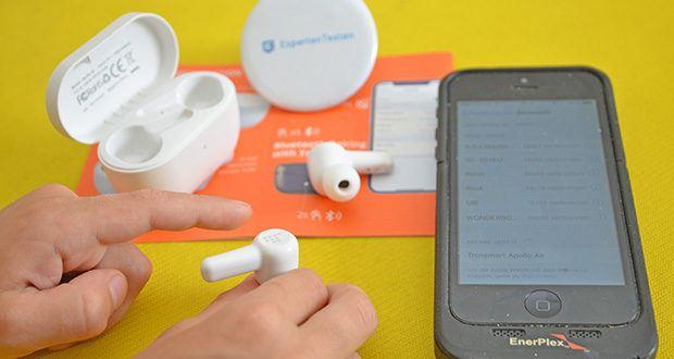 Tronsmart Apollo Air In-ear-Kopfhörer im Test - fortschrittliche Bluetooth 5.2-Technologie für eine robustere Verbindung und geringere Latenz