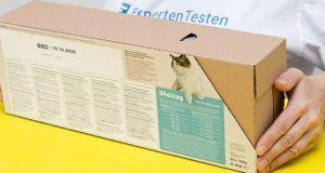Was sind die Ergebnisse zu dem Katzenfutter Test?