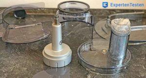 Wie läuft die Reinigung der Küchenmaschine im Vergleich ab?
