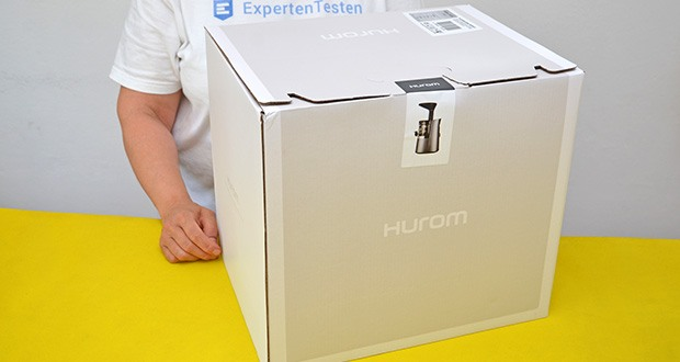 Hurom Slow Juicer S13 im Test - sauber und langlebig