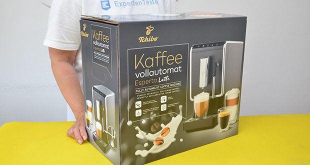 Tchibo Kaffeevollautomat Esperto Latte im Test - mit Panarello für Milchspezialitäten