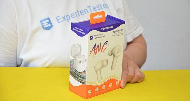 Tronsmart Apollo Air+ ANC In-ear-Kopfhörer im Test - Modell: Apollo Air+, Farbe: Weiß
