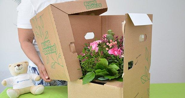 Blume2000 Blumenstrauß Schön, dass es Dich gibt im Test - 7-Tage-Frische-Garantie