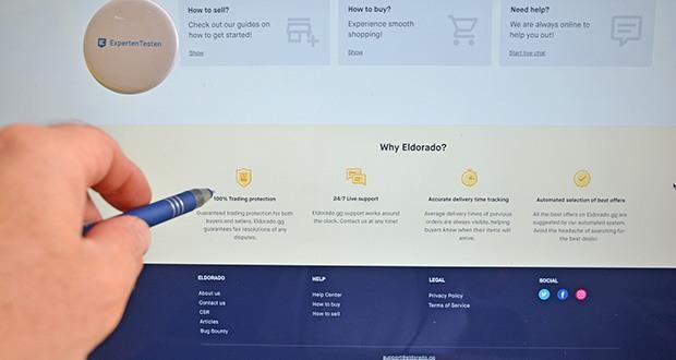 Eldorado.gg - Ankauf & Verkauf von Spielwährungen im Test - maximale Sicherheit