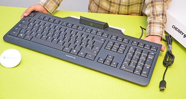 CHERRY KC1000 SC USB Security Tastatur im Test - sichere pin-eingabe (klasse-2-leser)