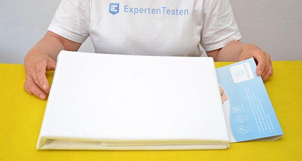 Rosenkern Matratzenschoner 90 x 200cm im Test - geräuscharm durch hochwertige PEPP Nässesperre