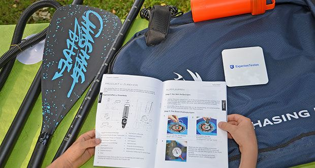 Outdoor Master Violet Spirit iSUP Board im Test - wendet das neuestes Drop-Stitch-Material an, das noch leichtere und haltbarere SUP-Boards mit starker Anti-Verformung und Widerstand gegen Abnutzung hervorbringt