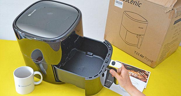 Proscenic T22 Heißluftfritteuse im Test - Kapazität: 5 Liter