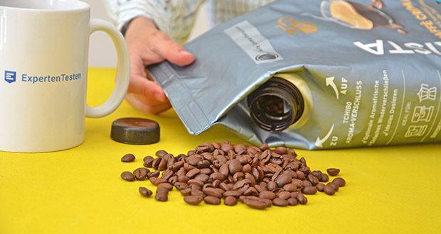 Tchibo BARISTA Caffè Crema Ganze Bohne 1 kg im Test - 100% Tchibo Arabica-Bohnen