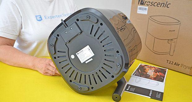 Proscenic T22 Heißluftfritteuse im Test - Leistung: 1700 Watt