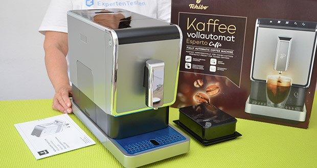 Tchibo Kaffeevollautomat Esperto Caffè im Test - einfache Reinigung und Wartung