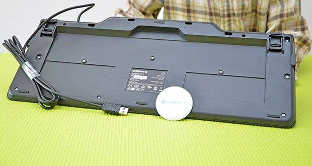 CHERRY KC1000 SC USB Security Tastatur im Test - emv 2000 level 1 zugelassen