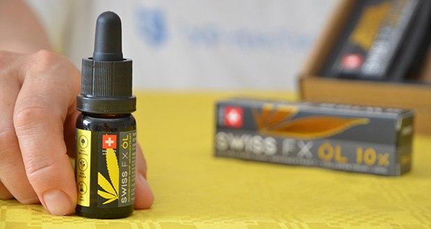 SWISS FX CBD Öl Set 5/10/15% im Test - wird in der Schweiz hergestellt unter den Bio Suisse Richtlinien