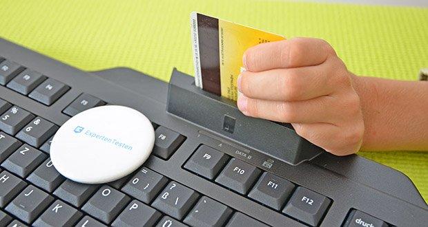 CHERRY KC1000 SC USB Security Tastatur im Test - pc/sc smartcard leser; ccid kompatibel; erfüllt die anforderungen gemäß fips-201