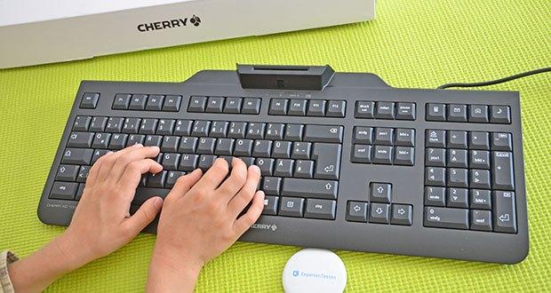 CHERRY KC1000 SC USB Security Tastatur im Test - flaches design, niedrige chipkarten-kontaktiereinheit, intelligentes Konzept