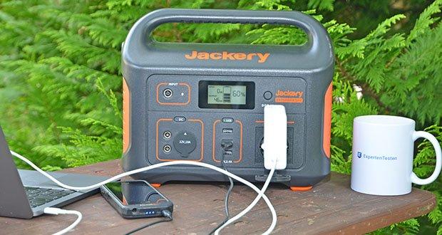 Jackery Tragbare Powerstation Explorer 500 im Test - spezialisiert auf nachhaltige Lösungen für die Outdoor-Stromversorgung