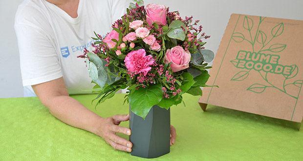 Blume2000 Blumenstrauß Schön, dass es Dich gibt im Test - Gefühle lassen sich mit Blumen besonders schon zum Ausdruck bringen - dies trifft insbesondere auf den herrlichen Blumenstrauß Schön, dass es Dich gibt zu