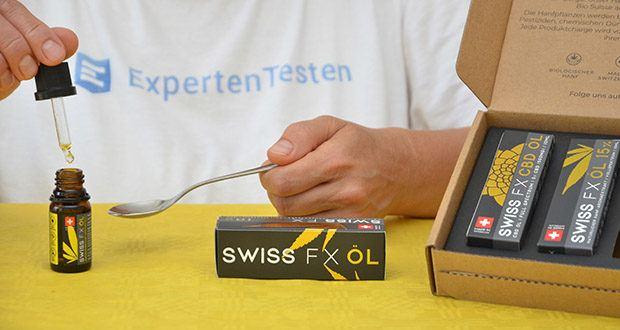 SWISS FX CBD Öl Set 5/10/15% im Test - natürliches Vollspektrum Öl