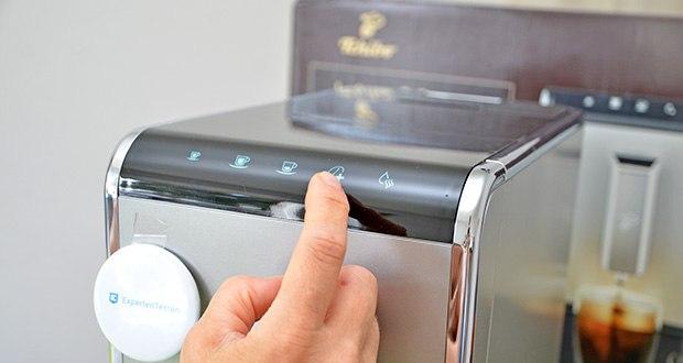 Tchibo Kaffeevollautomat Esperto Caffè im Test - Kaffeestärke anpassen dank Intense+ Technologie