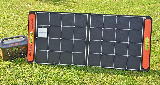 Jackery Faltbares Solarpanel SolarSaga 100 im Test - zur Gewinnung von Solarenergie ist ergonomisch, einfach mitzunehmen, robust und wetterfest