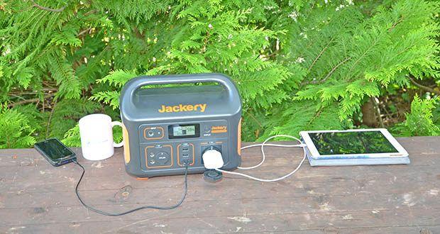 Jackery Tragbare Powerstation Explorer 500 im Test - ideale mobile Stromversorgung für Unterwegs, Wohnmobile, Partys, Outdoor Aktivitäten & Zuhause
