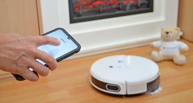 Yeedi Mop Station Roboter-Mopp im Test - richten Sie eine virtuelle Grenze ein, planen Sie Ihre Reinigung, wählen Sie den Reinigungsmodus oder wählen Sie einen bestimmten zu reinigenden Bereich - mit der yeedi-App können Sie all dies mit Ihren Fingerspitzen erledigen